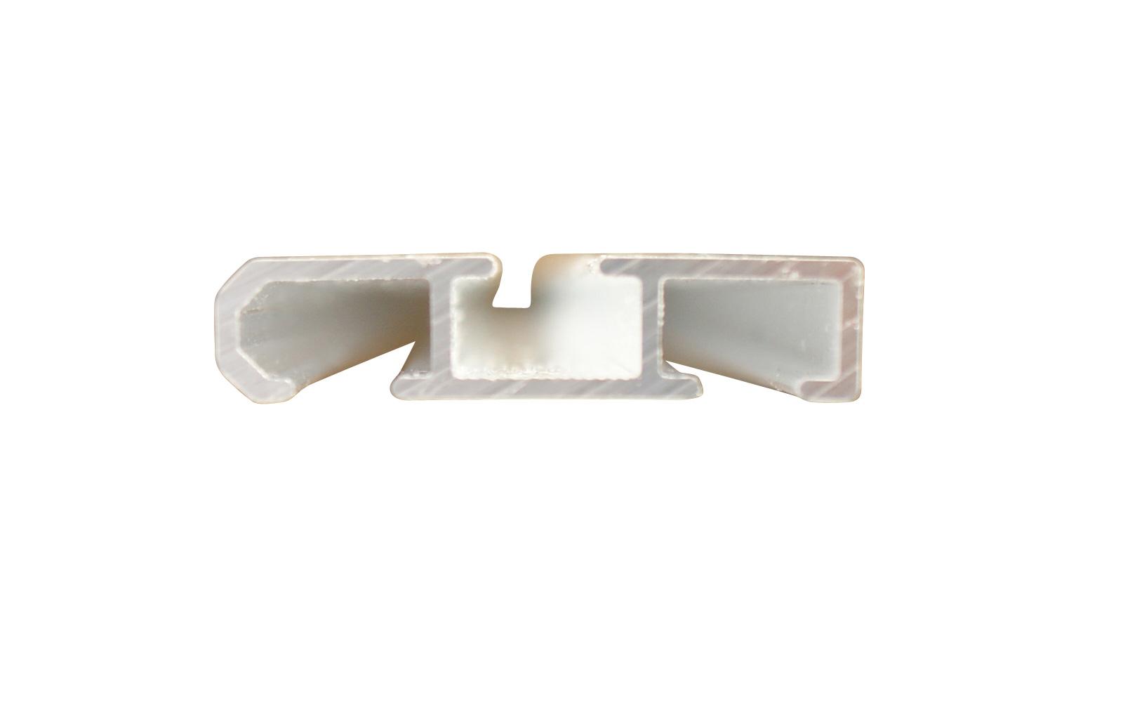 Gardinenschiene silber aus aluminium 2 l ufig for Design couchtisch remember in silber aus aluminium