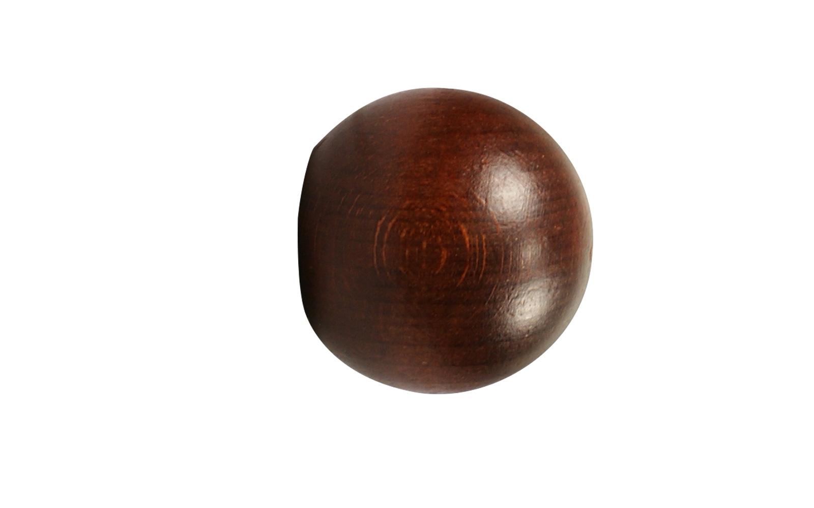 Einzigartig Kugel Endstücke für 28 mm Vorhangstangen Holz WY23