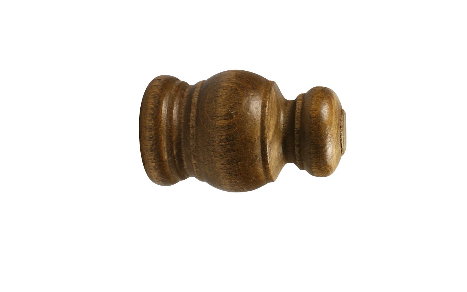 Bevorzugt Holz Endstücke für 28 mm Gardinenstangen im 2er Set RH76