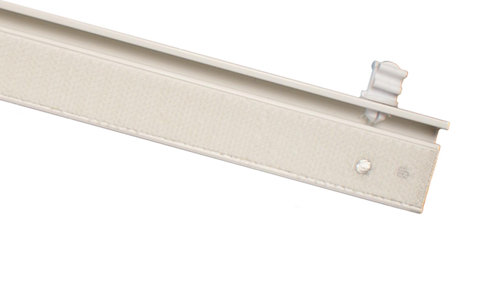 2 l ufige gardinenschiene aus aluminium alu silber for Design couchtisch remember in silber aus aluminium